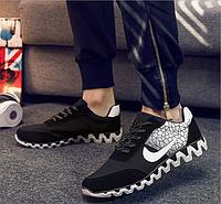 Кроссовки Nike мужские весна/лето 2016 (черные) , фото 1