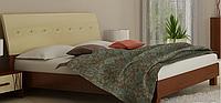 Кровать Терра 180х200 с мягкой спинкой  Миромарк
