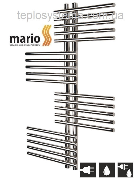 Полотенцесушитель MARIO Премиум Симфония  1360/690/50 водяной