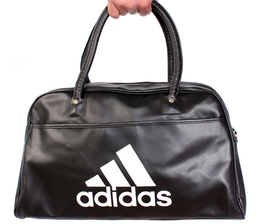 Дорожная сумка из искусственной кожи 30301 черная