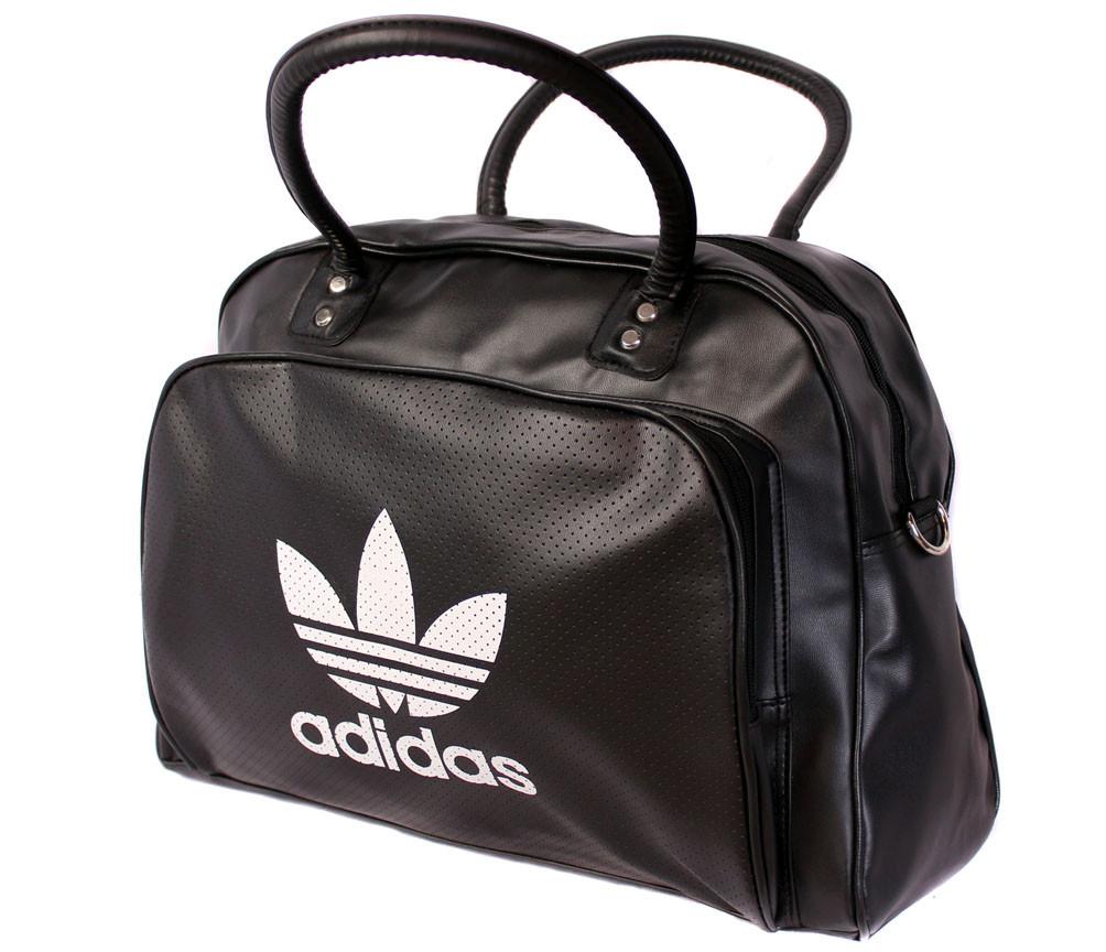 Дорожная сумка из искусственной кожи 30304 черная