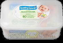 Влажные салфетки Babylove Sensitive 80 шт + Box