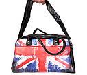 Мужская спортивная сумка с принтом Британский флаг 30306, фото 5