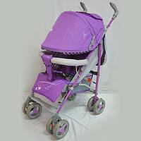 Коляска-трость SIGMA BYW-308 фиолетовая, фото 1