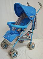 Коляска-трость SIGMA BYW-308 синяя, фото 1