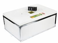 Инкубатор Наседка на 70 яиц с механическим переворотом и аналоговым термо-ром и внутренней нерж. сеткой DI