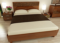 Кровать двуспальная Флора 180  Миромарк