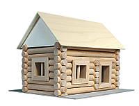 Конструктор деревянный (72 элемента)