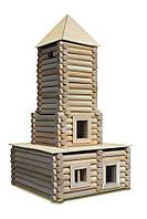 Конструктор деревянный (184 элемента)