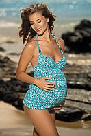 Женский купальник для беременных майка и плавки FEBA F41 349 CIĄŻA.  Коллекция купальников FEBA Лето 2016