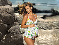 Женский купальник для беременных майка и плавки FEBA F41 346 CIĄŻA.  Коллекция купальников FEBA Лето 2016