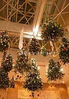 Новогоднее оформление помещений, новогодний декор