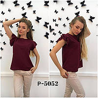 Блуза ткань креп-шифон 4 цвета ( АК)