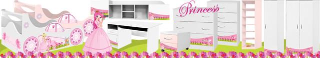 Детская мебель Принцесса купить от украинского производителя с бесплатной доставкой по Украине!