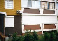 Защитные ролеты для загородных домов и дач