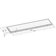 Світлодіодний світильник, прямокутний 33 Вт (аналог 3*36), фото 2