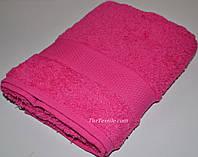 Махровое хлопковое полотенце 50*90 см для лица, фото 1
