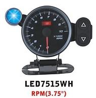 Дополнительный прибор Ket Gauge LED 7515 WH, LED 7515 BL, LED 7515 RED тахометр.Тюнинг салона