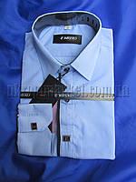 """Рубашка детская на мальчика подросток длинный рукав (6-12 лет) """"Ruba"""" 2RS-5034"""