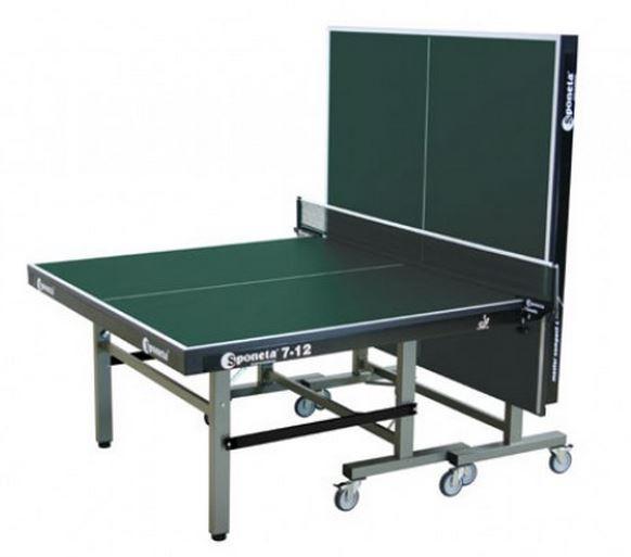 Профессиональный теннисный стол Sponeta S 7-12 master compact. Высококачественные дорогостоящие материалы.