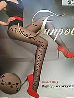 """Модные женские колготы """"Model 005"""" с рисунком"""