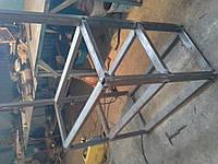 Cтеллажный стол (металлическая конструкция)