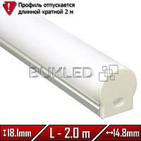 Алюминиевый профиль 14,8 х 18,1 мм
