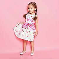 Платье летнее для девочки 4 года 100% хлопок-поплин The Children's Place (США)