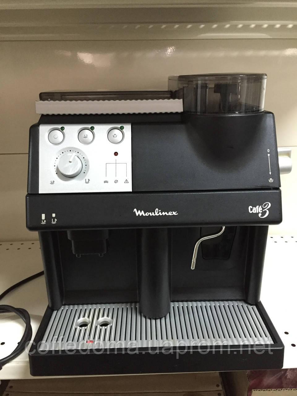 Moulinex cafe 3 (saeco vienna) автоматическая кофемашина