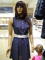 Платье женское летнее в горошек