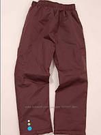 Штаны демисезонные, непромокаемые, на синтепоне для мальчика р.128 ТМ Pidilidi-Bugga (Чехия)