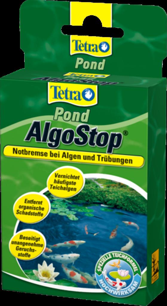 Tetra POND AlgoStop 12 капсул - средство для предотвращения появления водорослей в пруду (на 3000л) - Интернет-магазин «Моё дело» в Харькове