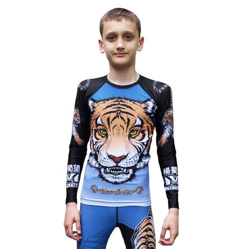 Рашгард детский MEERKATSU Kids Tiger