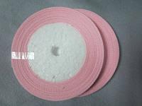 Опт. Лента атлас 0,5 см нежно-розовая, 23 м