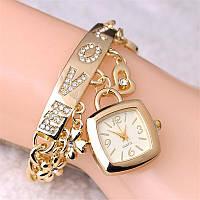 Наручные часы, цвет золотой , фото 1