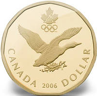Канада - Canada 2006 г. $1 доллар UNCIRCULATED