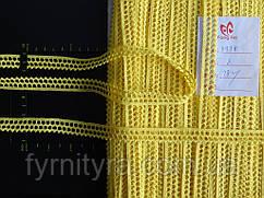 Бавовняне мереживо котон 087 жовте