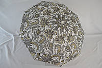 Женский зонтик автомат «Popular» с красивым цветочным узором.