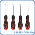 Набор шил и крюков с резиновой ручкой 4 пр. 904U4 Force