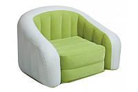 Надувное кресло Intex 68571 Lime