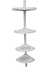 Полиця кутова для ванної з телескопічною трубкою Primanova, Туреччина N02-01