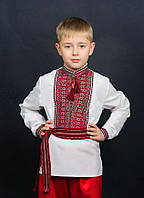 Вышиванка на мальчика с длинным рукавом