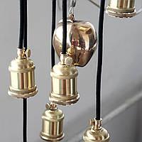 Подвесной светильник [ Loft Steampunk series Spider Edisons - 8 Apple edition ]
