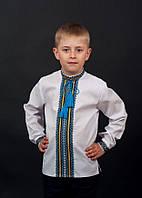 Эксклюзивная вышиванка на мальчиика с длинным рукавом