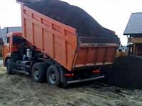Чернозем для озеленения в Обухове Козын дамба  Киевская область