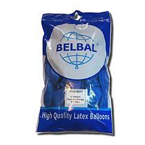 """Воздушные шары Belbal пастель 12""""(30 см) синий 50 шт"""