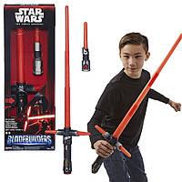 Интерактивный световой меч Кайло Рейна Звёздные войны, Star Wars The Force Awakens Kylo Ren Lightsaber из США