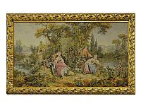 """Картина-гобелен в раме 190х90 см. """"Королевские гулянья"""" горизонтальная"""