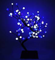СВЕТОДИОДНОЕ ДЕРЕВО «Снежные шарики» 60 см(цвета разные), фото 1