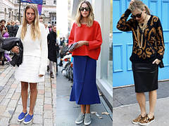 Слипоны - модная обувь на все